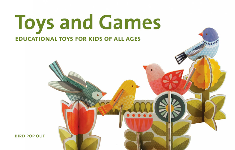 Educational Toys and Games For Kids of All Ages