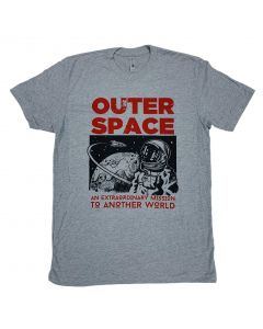 Adult Retro Outer Space T-Shirt