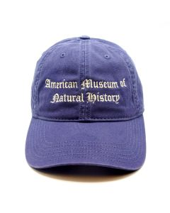 Slate Blue Cap - Embroidered Vintage Museum Logo