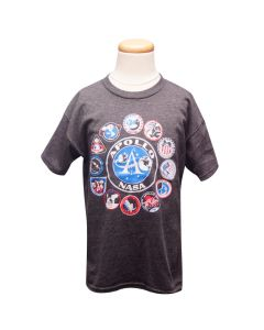 Youth NASA Apollo Patches T-Shirt