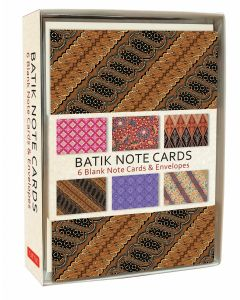 Batik Note Cards Boxed Set