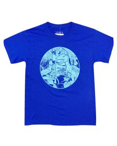 Youth Blue Raptor Jungle T-Shirt