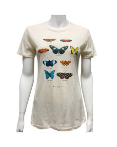 Ladies Butterfly Specimens T-Shirt