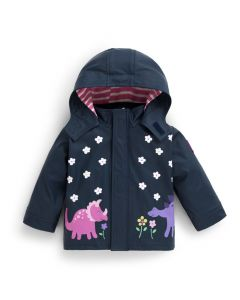 Infant / Toddler Dino Color-Changing Rain Coat