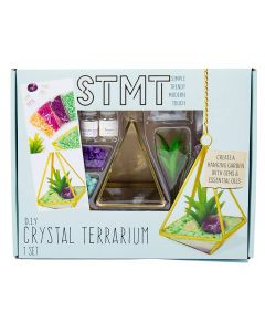Do It Yourself Crystal Terrarium Kit