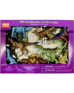 Dino Dig Moveable Action Play Set