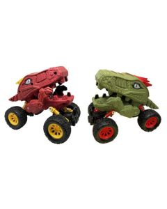 Dinosaur Showdown Set of Two Pull Back Trucks