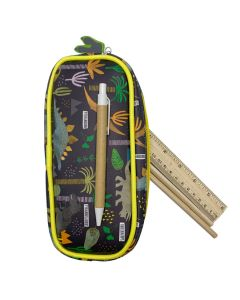 Dinosaur Pencil Case Closeup