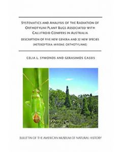 B422 (2018) Systematics and Analysis of the Radiation of Orthotylini Plant Bugs
