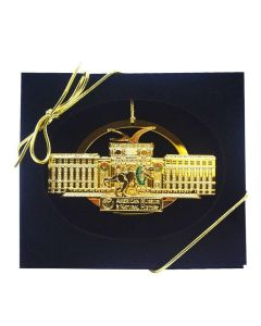 Gold-Plated Brass Museum Facade Ornament