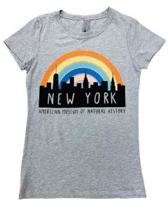 Girls New York Rainbow T-Shirt
