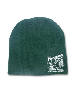 Pangaea Forest Green Knit Beanie Cap