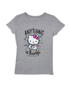 Girls Hello Kitty Anything Is Possible T-Shirt