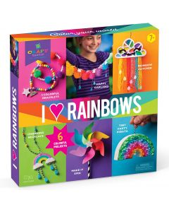 I Heart Rainbows Craft Kit