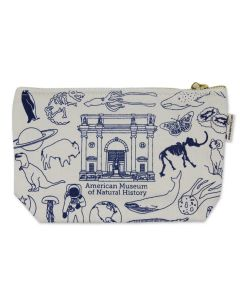 AMNH Icons Zippered Pouch