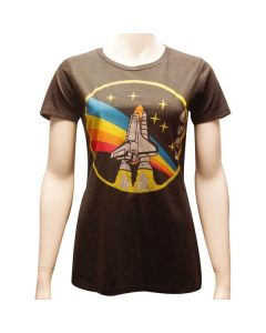 Ladies NASA Rainbow T-Shirt