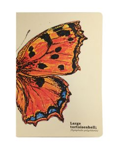 Large Tortoiseshell Butterfly Journal
