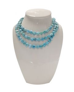 Larimar Seafoam Necklace by MarahLago