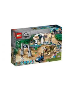 Lego Jurassic World Triceratops Rampage- Front