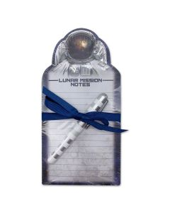 Lunar Mission Notepad and Pen Set