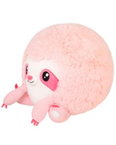 Squishable Pink Plush 7 Inch Sloth
