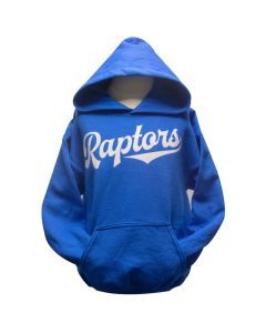 Youth Royal Blue Raptors Hoodie