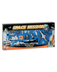 Action City Space Mission Play Set