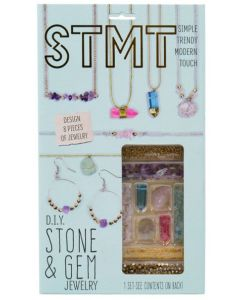 Do It Yourself Stone and Gem Jewelry Kit