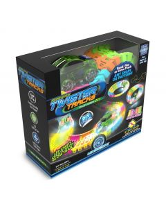 Neon Glow-In-The-Dark Twister Tracks