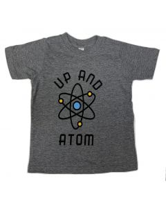 Toddler Up And Atom Heather Gray T-Shirt