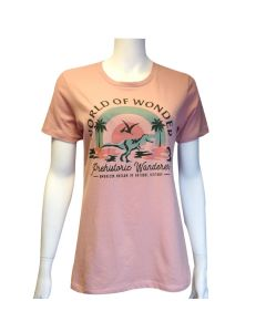 Ladies World of Wonder: Prehistoric Wanderer T-Shirt