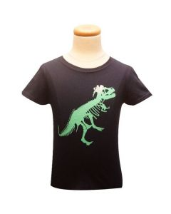 Girls T.Rex with Flowers T-Shirt