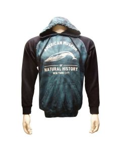 Adult Two-Tone Blue Whale Hoodie