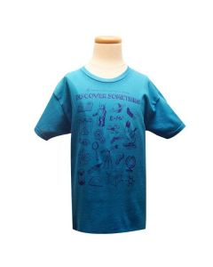 Youth Discover Something Turquoise T-Shirt