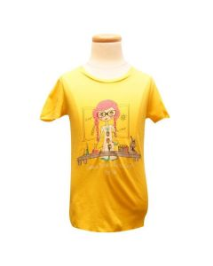 Girls Yellow Coraline T-Shirt