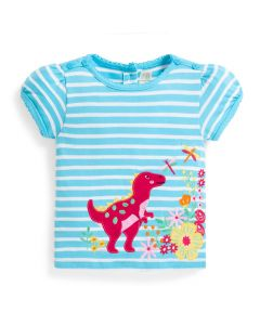 Infant / Toddler Dinosaur Floral T-Shirt