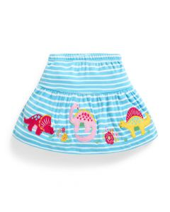 Infant / Toddler Dinosaur Striped Skort
