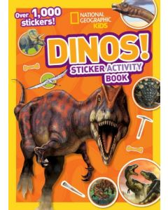 NG Kids Dinos Sticker Activity Book