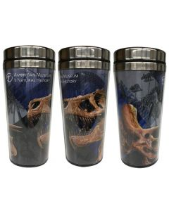 Dinosaur Fossil Travel Mug by AMNH