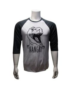 Adult Hangry T. Rex Raglan T-Shirt