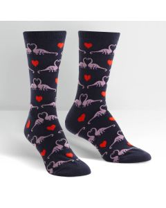 Happy You Exist Dinosaur Socks
