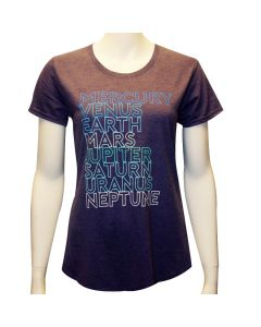 Ladies Planet Names T-Shirt