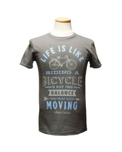 Adult Einstein Life is Like Riding a Bicycle Tee