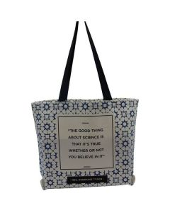 Neil DeGrasse Tyson Quote Tote