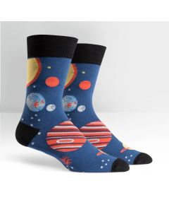 Men's Planet Crew Socks