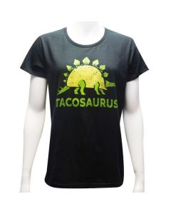 Ladies Black Tacosaurus T-Shirt