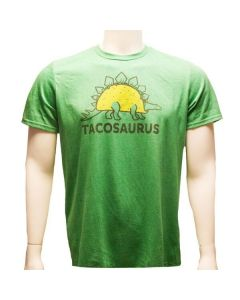 Adult Green Tacosaurus T-Shirt