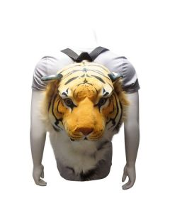 Plush Bengal Tiger Backpack