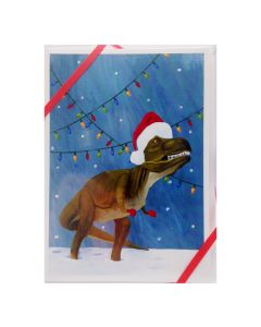 T.Rex Dinosaur Holiday Greeting Cards