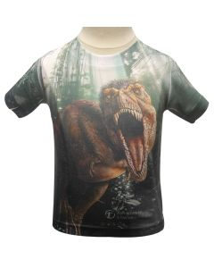 Toddler / Youth T. Rex Jungle Sublimation T-Shirt